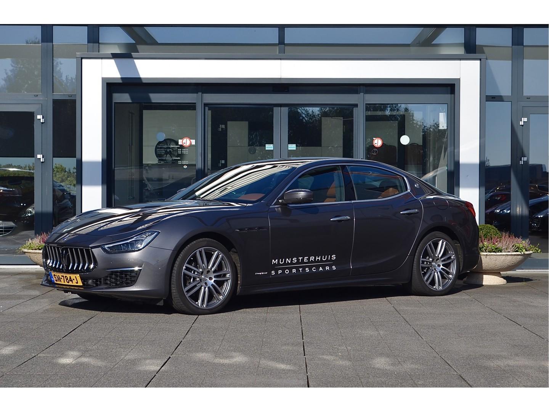 Maserati Ghibli 3.0 v6 d granlusso zegna interieur