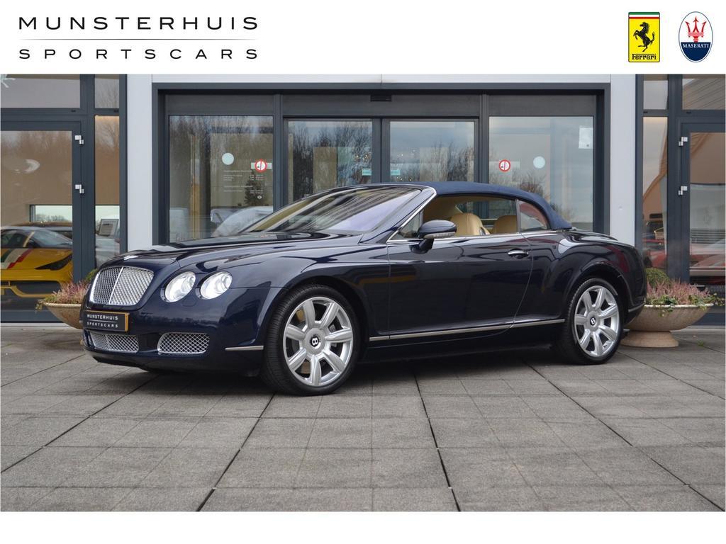 Bentley Continental gtc 6.0 w12 2e eigenaar!! topstaat!!