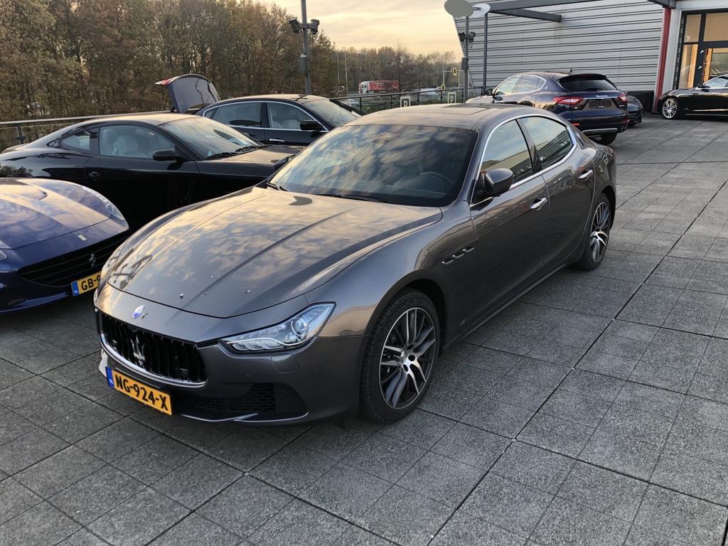 Maserati Ghibli 3.0 v6 d my2017 sportstoelen / schuifkantel / stoelventilatie eerste eigenaar!! -munsterhuis maserati-