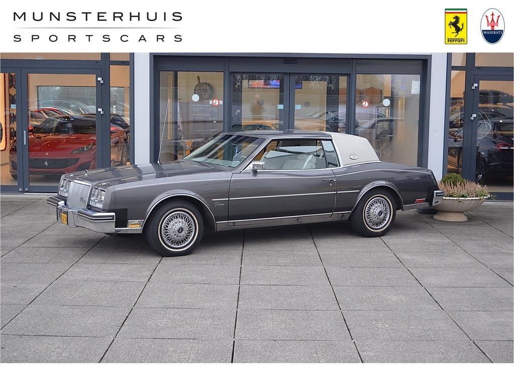 Buick Riviera Coupe 5.7l v8 eerste eigenaar!! uniek!