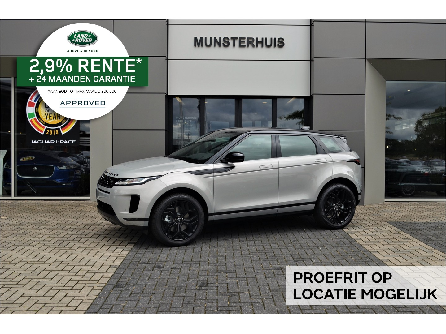 Land rover Range rover evoque 2.0 d150 hello edition awd aut.