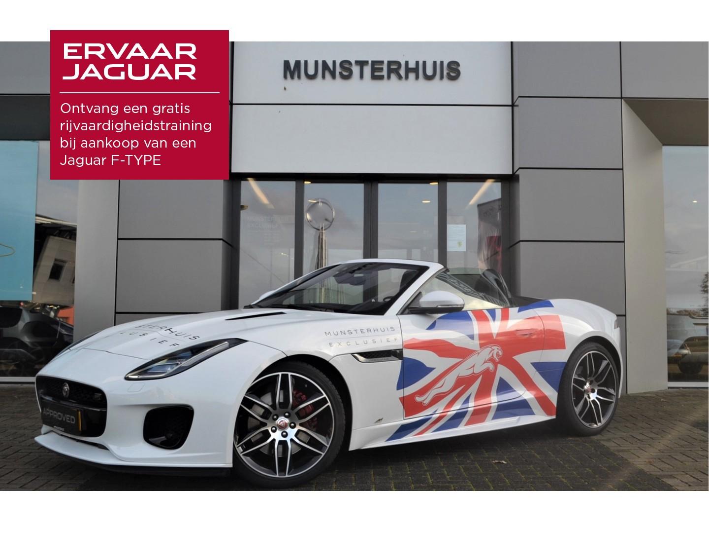 Jaguar F-type 2.0t chequered flag
