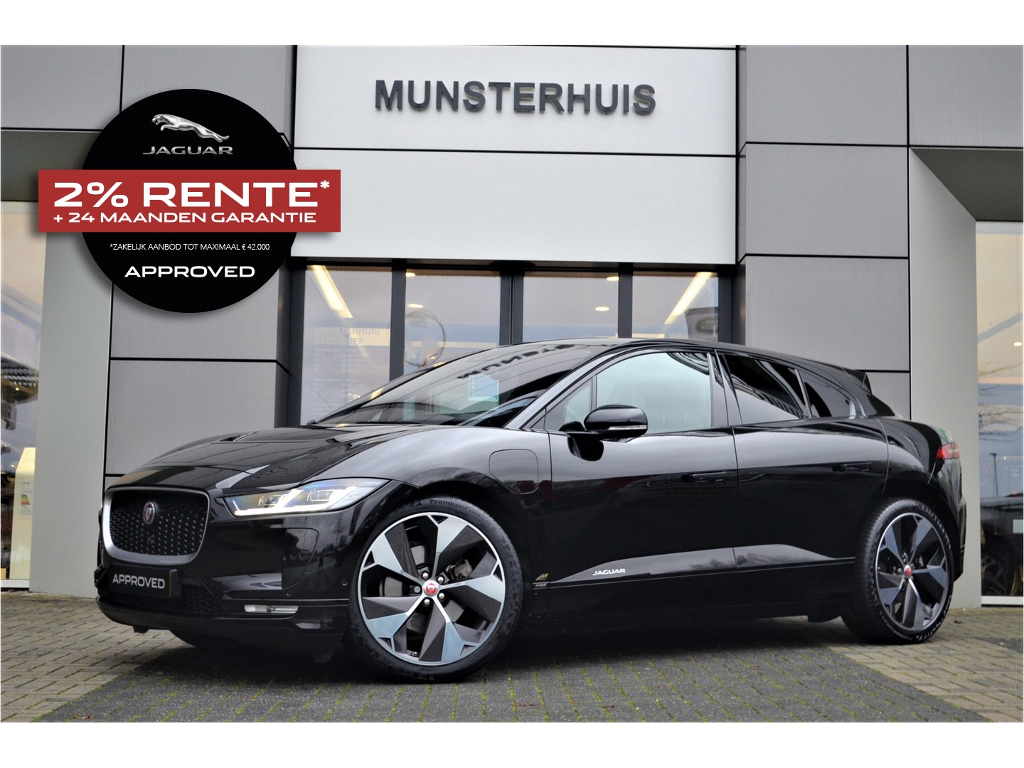 Jaguar I-pace Ev400 first edition 4% bijtelling