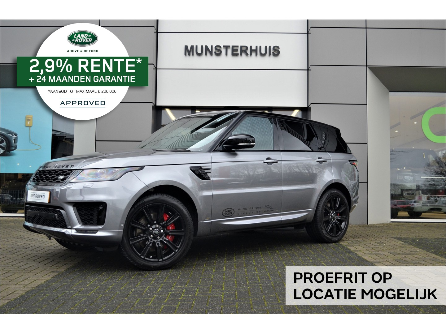 Land rover Range rover sport P400e limited edition