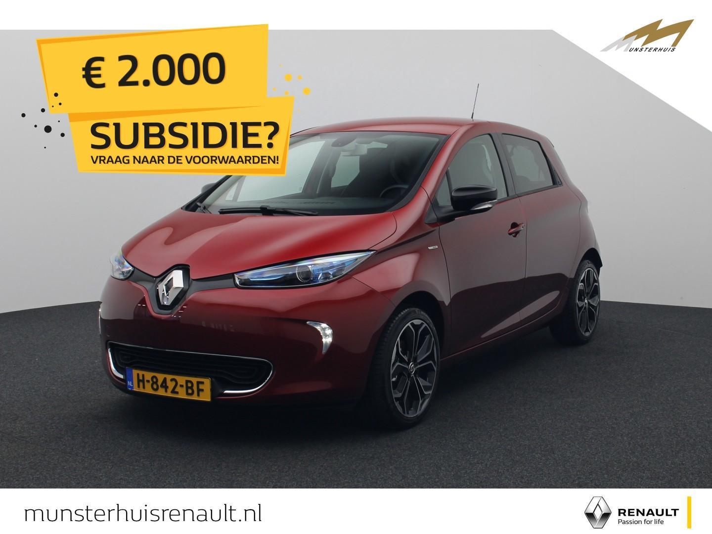 Renault Zoe R110 iconic 41 kwh - 4% bijtelling - batterijkoop - €2.000,- overheidssubsidie !