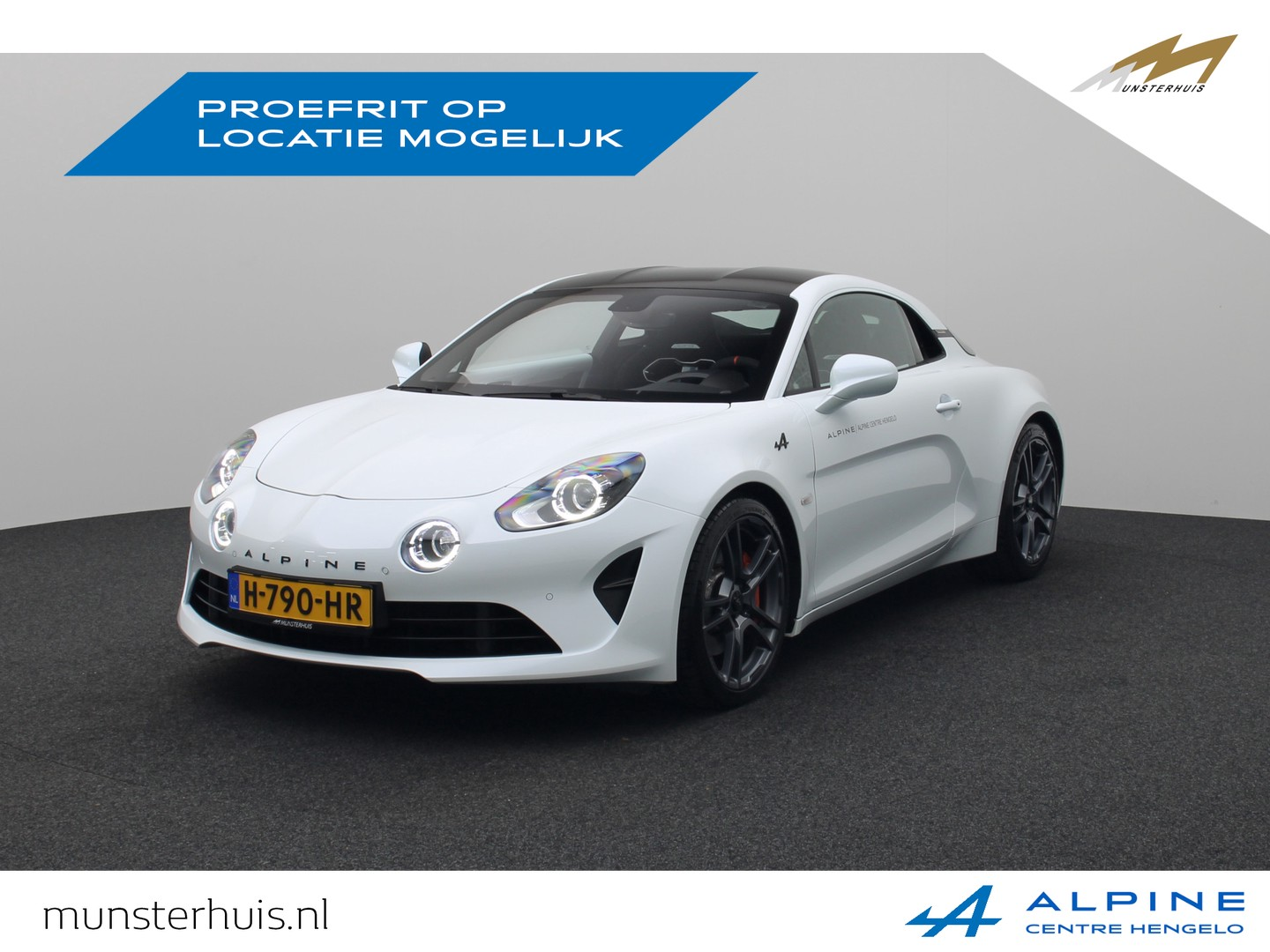 Alpine A110 1.8 turbo s - demo - ~alpine munsterhuis~