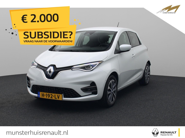Renault Zoe R135 intens z.e. 50 - 8% bijtelling - demo - batterijkoop - €2.000,- overheidssubsidie