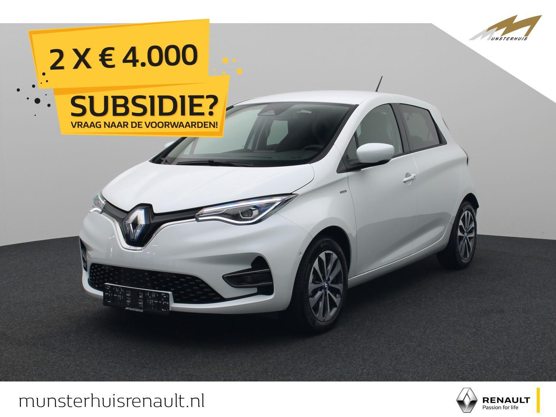 Renault Zoe R135 edition one z.e. 50 - batterijkoop - nieuw model !