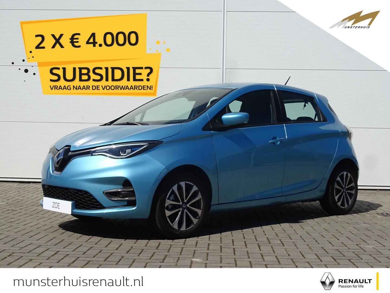 Renault Zoe R135 zen z.e. 50 - batterijkoop - nieuw model !