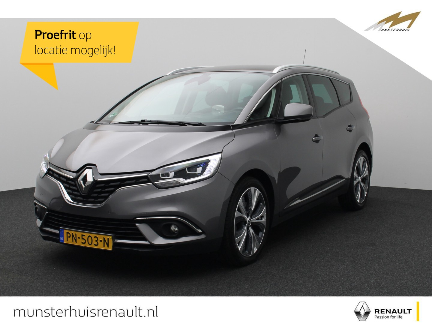 Renault Grand scénic Dci 110 edc intens - automaat -