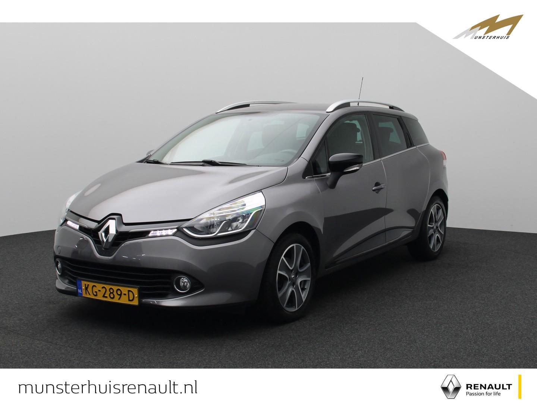 Renault Clio Estate dci 90 eco night&day - parkeersensoren - lichtmetalen velgen -