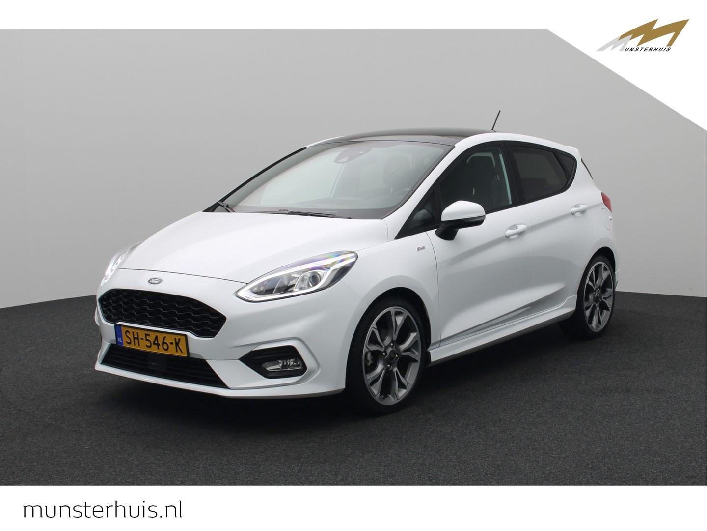 """Ford Fiesta 1.0 ecoboost st-line - 18"""" lichtmetalen velgen - panoramadak -"""