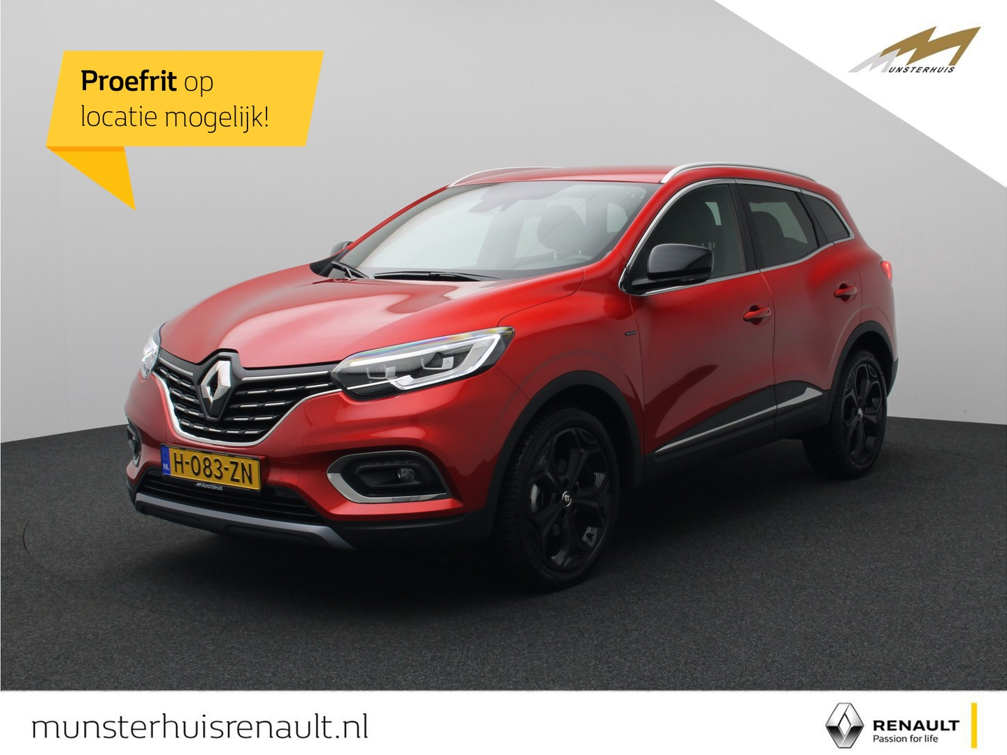 Renault Kadjar Tce 160 edc black edition - automaat - all season banden -