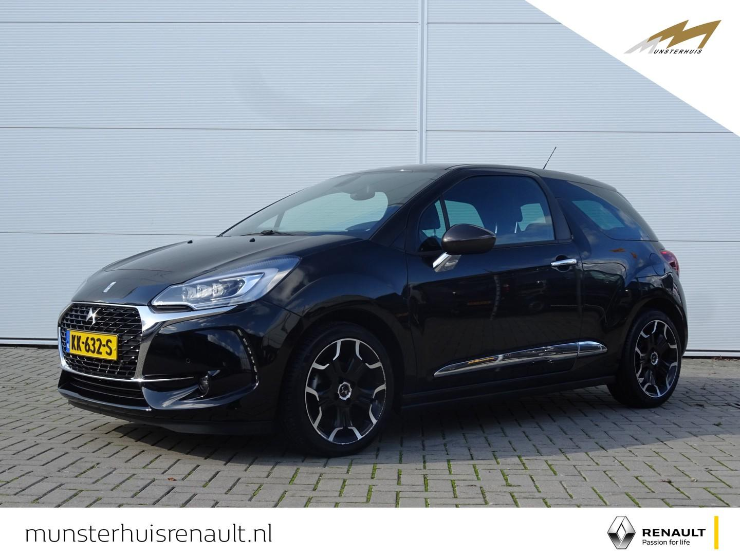 Ds Ds 3 1.2 puretech so chic at - automaat - two-tone - luxe uitgerust !