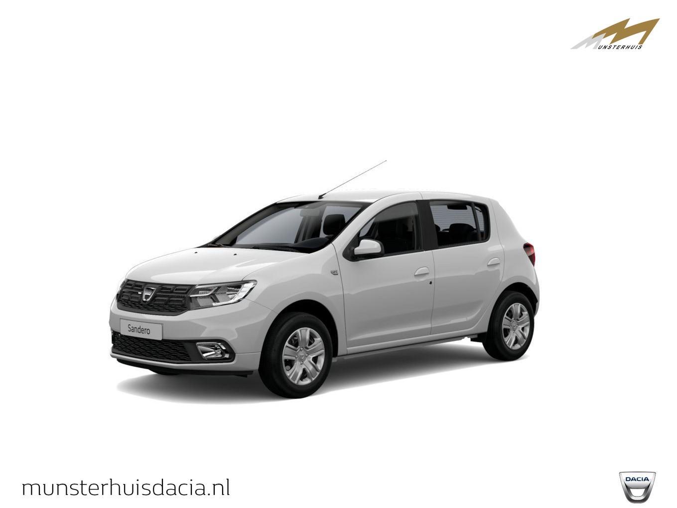 Dacia Sandero Tce 100 bi-fuel comfort - nieuw - lpg installatie - wordt verwacht