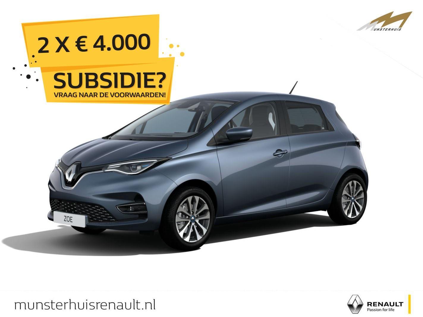Renault Zoe R135 zen z.e. 50 - batterijkoop - nieuw model - wordt verwacht !