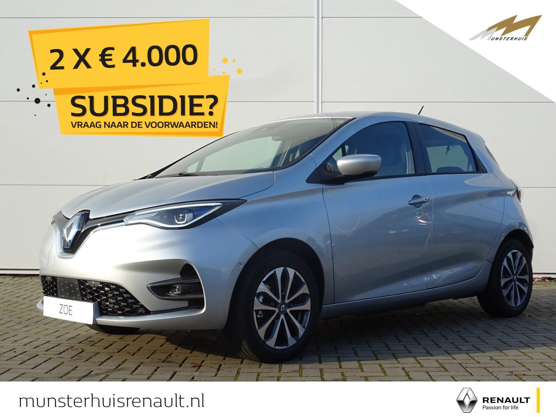 Renault Zoe R135 intens z.e. 50 - batterijkoop - nieuw
