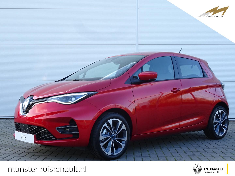 Renault Zoe R135 intens z.e. 50 - batterijhuur - nieuw model