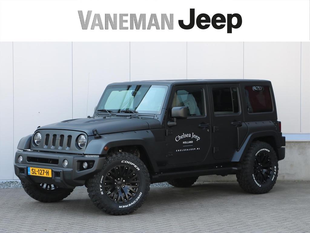 Jeep Wrangler 3.6 v6 night eagle / chelsea jeep
