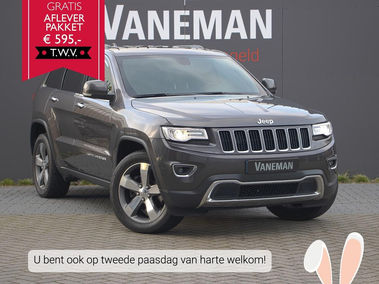 Jeep Grand cherokee 3.0 crd v6 250pk a8 limited
