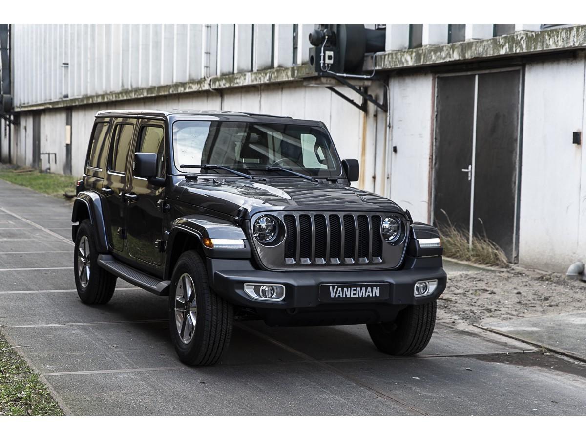 Jeep Wrangler 2.0t 272pk at sahara