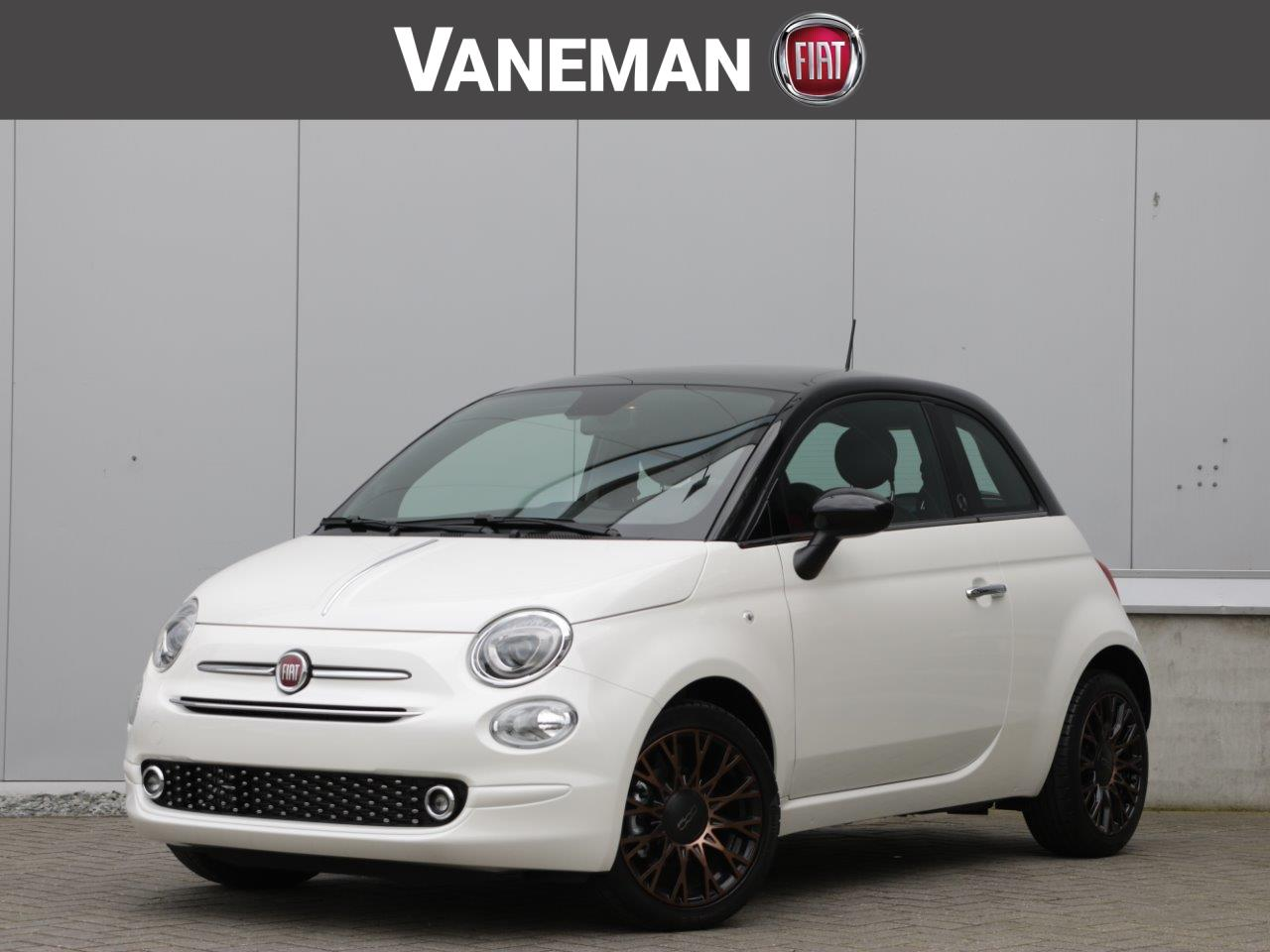 Fiat 500 Twinair turbo 85pk 120th apple edition