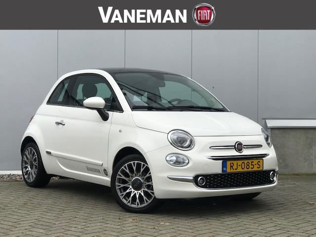 Fiat 500 1.2 69pk lounge /navi/