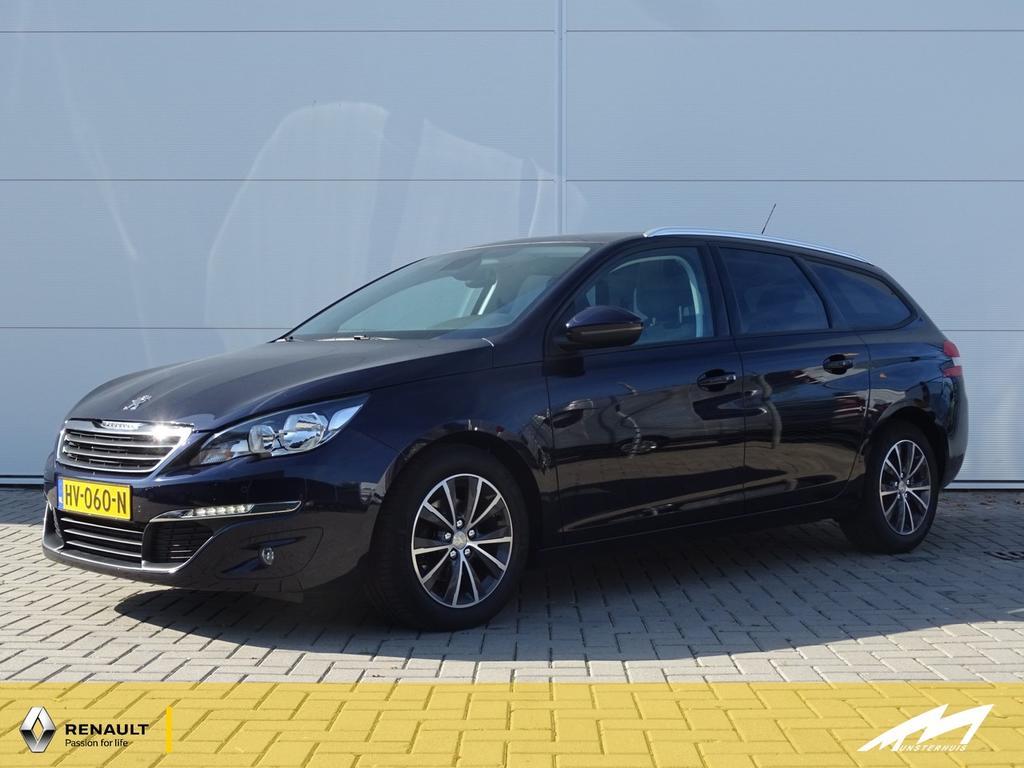 Peugeot 308 Sw 1.6 bluehdi 120pk blue lease - met 14% bijtelling