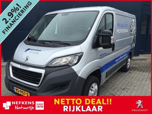 Peugeot Boxer 2.2 d 131pk 330 l1h1 *zijschuifdeur!* *parkeercamera!* *demo voordeel!!* *netto deal!* *rijklaar prijs!*
