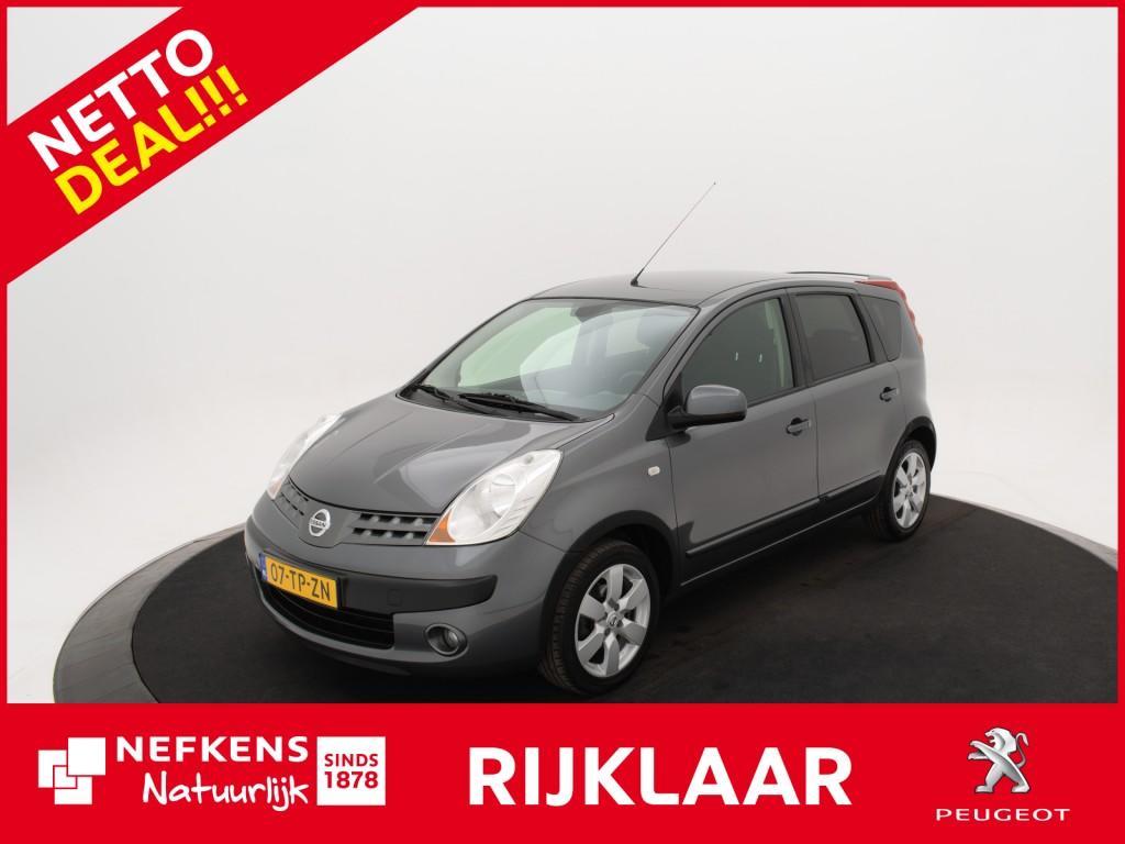 Nissan Note 1.6 110pk first note *climate control!* *lichtmetalen velgen!* *netto deal!* *rijklaar prijs!