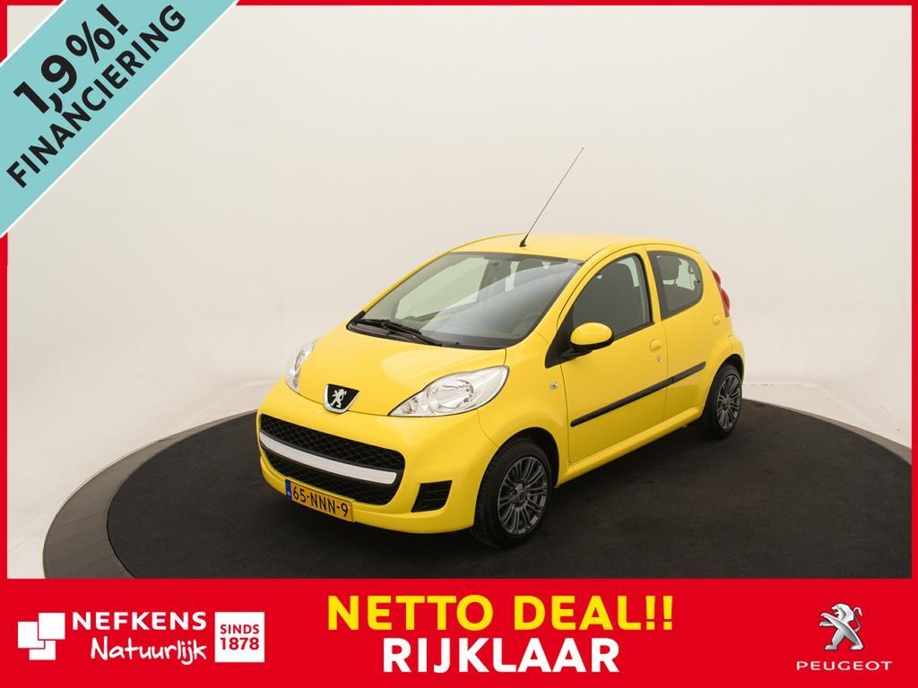 Peugeot 107 1.0-12v xs *5 deurs!* *lichtmetalen velgen!* *netto deal!* *rijklaar prijs!*