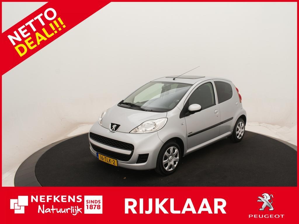 Peugeot 107 1.0-12v sportium 5drs *airco!* *schuif kantel dak!* *elektrisch pakket!* *netto deal!* *rijklaar prijs!*