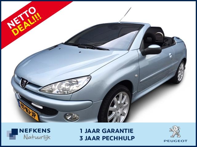 Peugeot 206 Cc 2.0-16v cabriolet * netto deal * clima * 16inch * led *