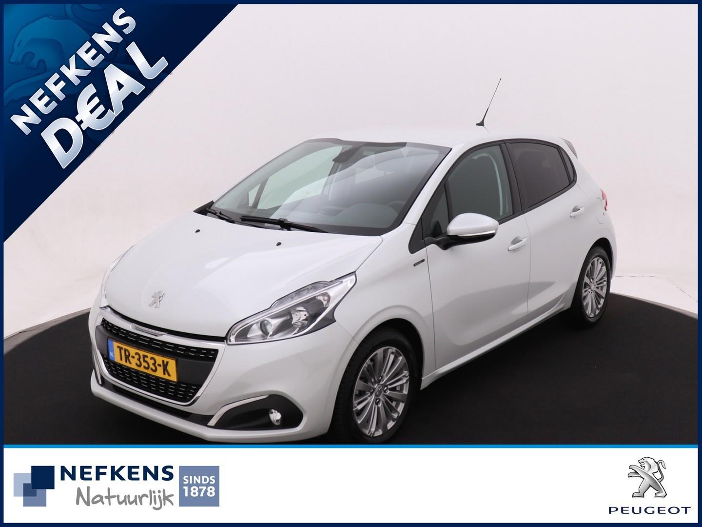 "Peugeot 208 1.2 puretech signature 110pk eat6 automaat! *navigatie*16"" lichtmetalen velgen*all-season banden*"