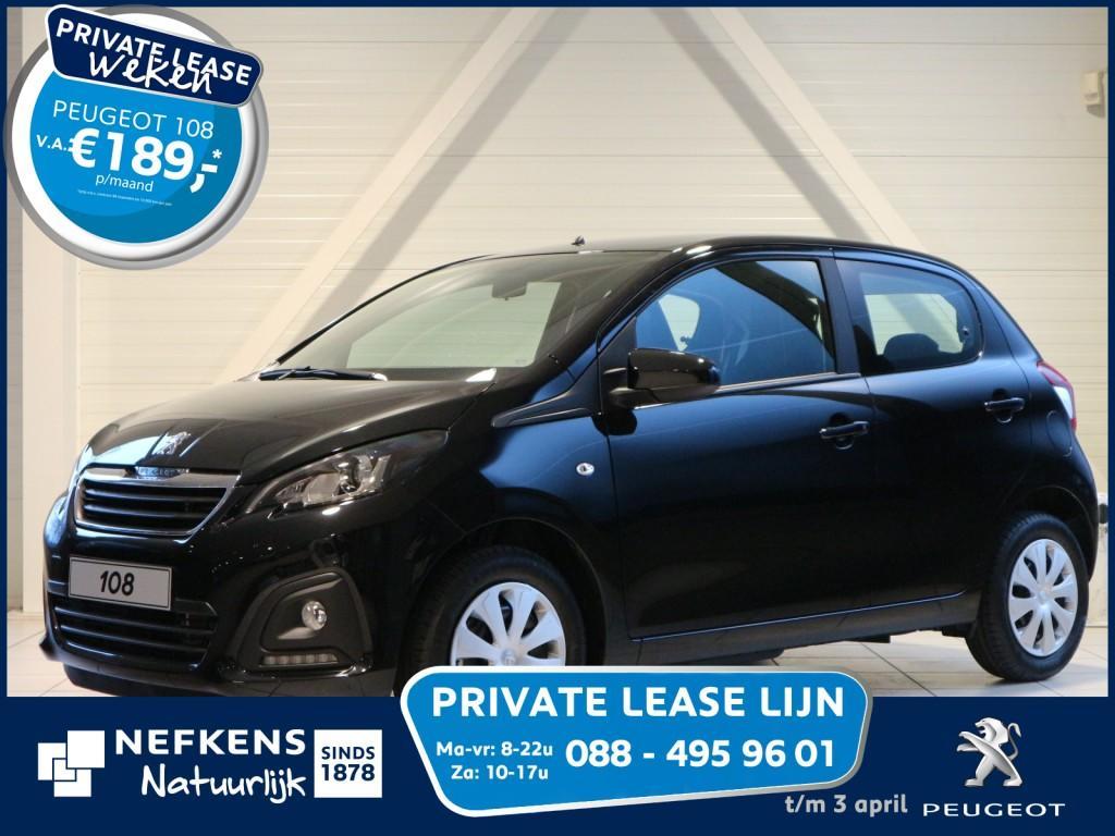 Peugeot 108 1.0 68 pk blue lion voorraad voordeel