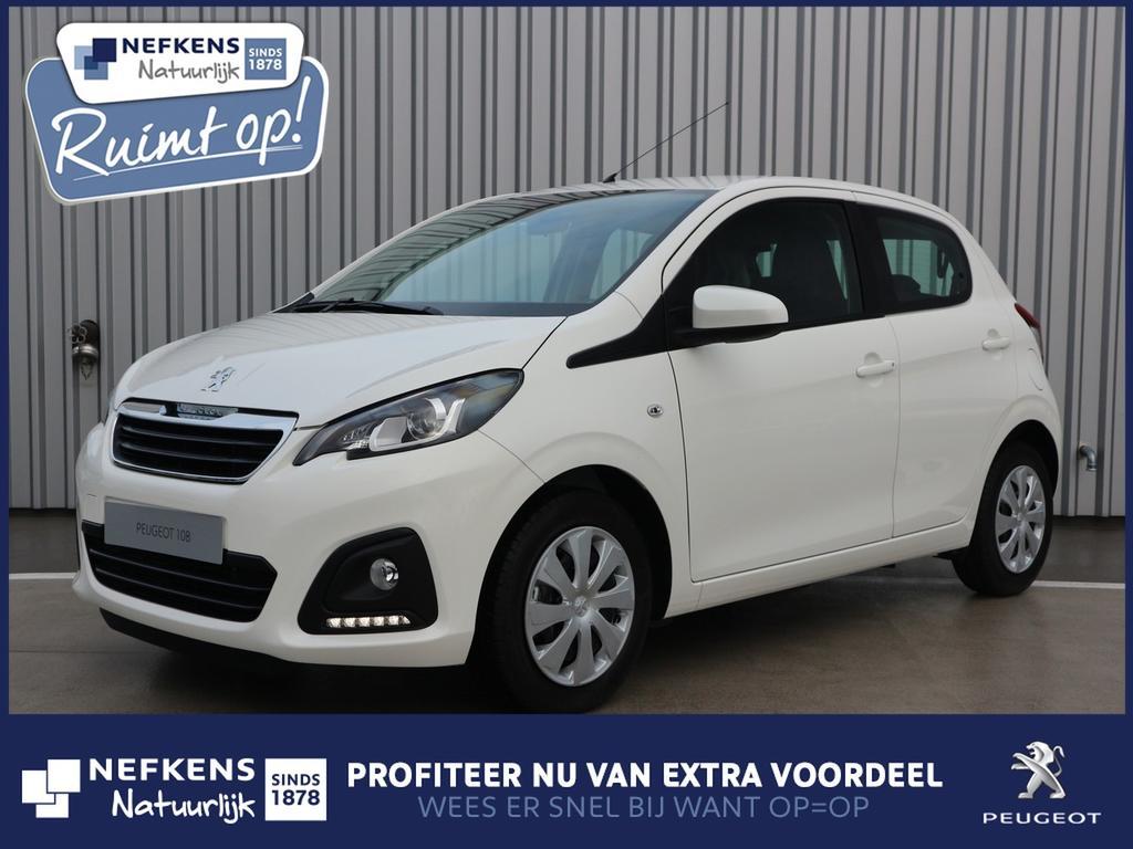 Peugeot 108 1.0 72 pk active voorraad voordeel!