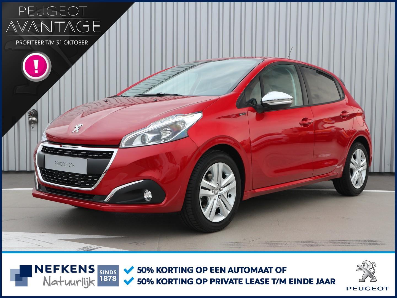 Peugeot 208 1.2 82 pk signature binnen 2 weken rijden