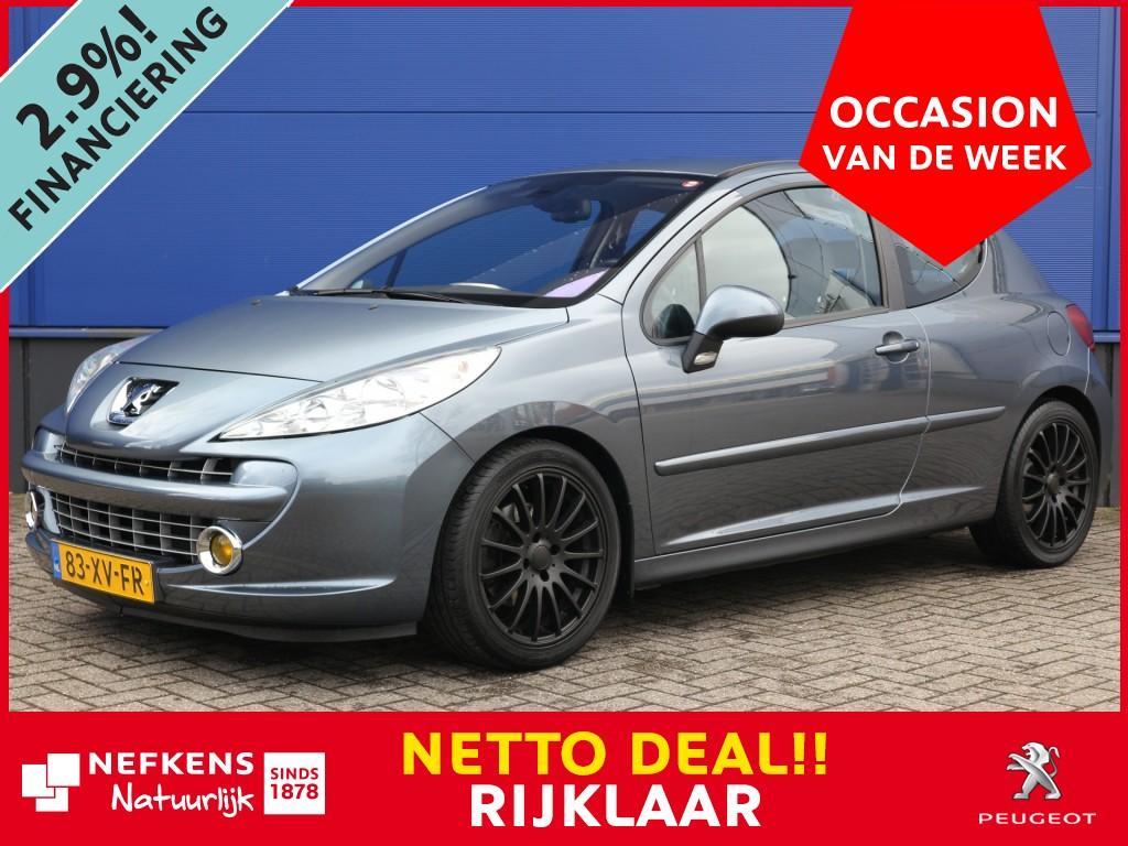 Peugeot 207 1.6 120 pk xs pack netto deal & rijklaar