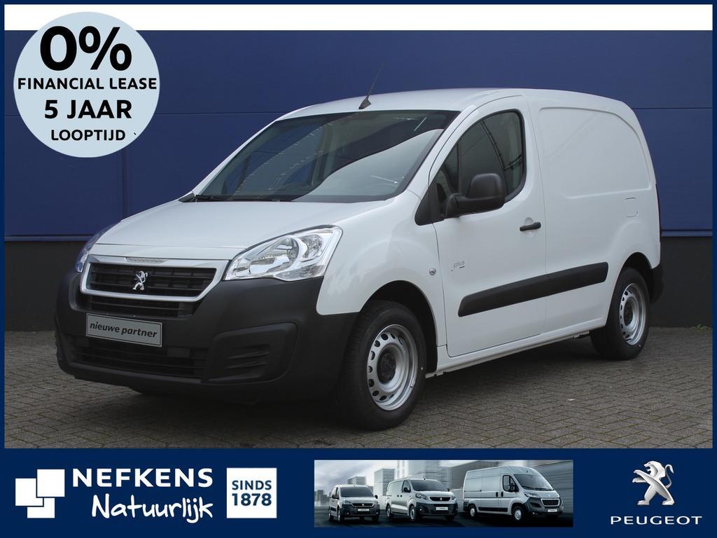 Peugeot Partner 120 1.6 bluehdi 75 l1 premium voorraad voordeel