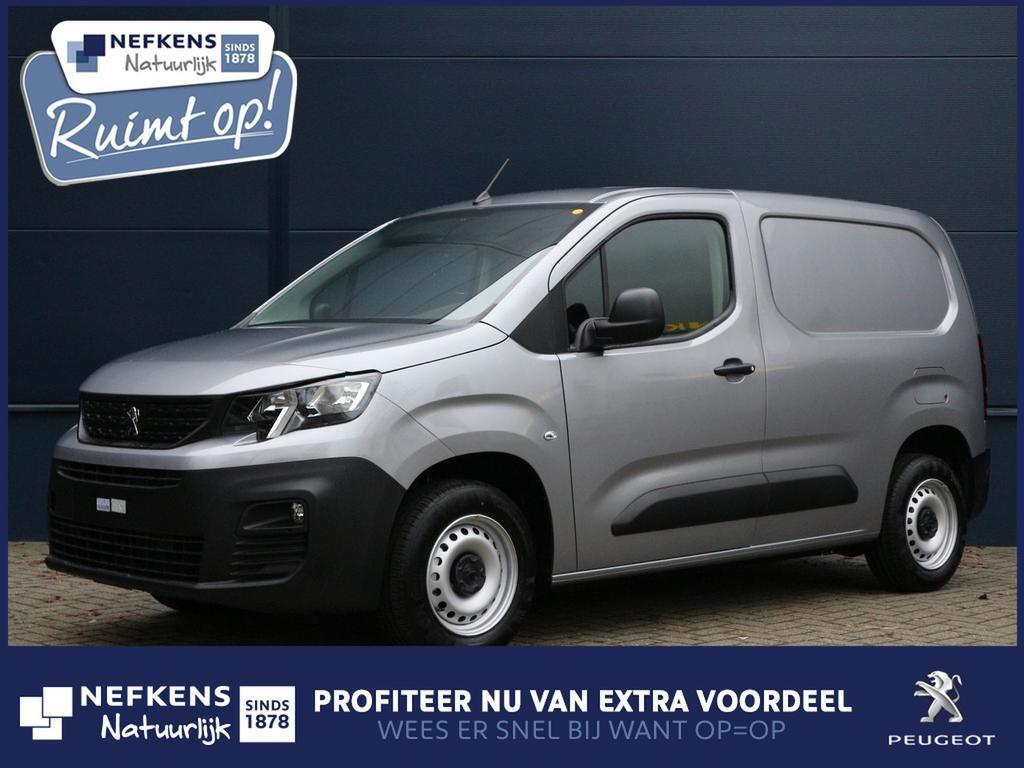 Peugeot Partner 1.6 bluehdi 100 pk premium laadvermogen  650 kg  voorraad voordeel