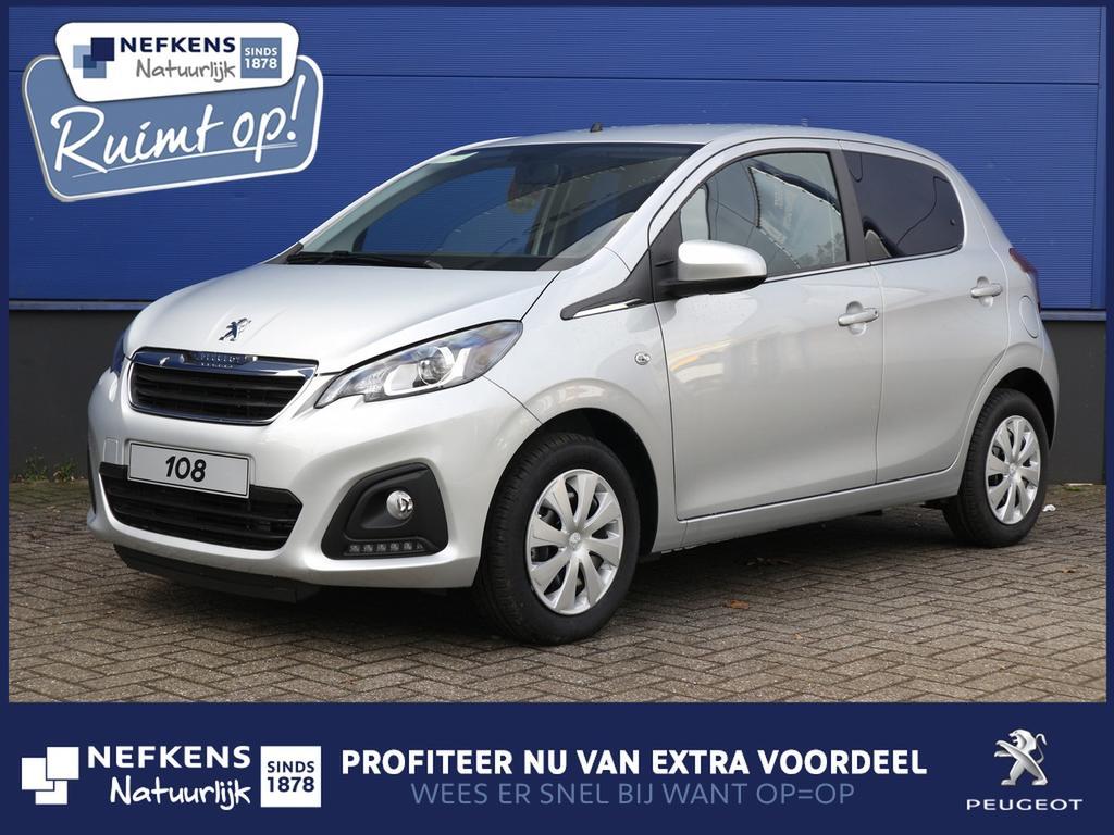 Peugeot 108 1.0 e-vti active voorraad voordeel, rijklaar!
