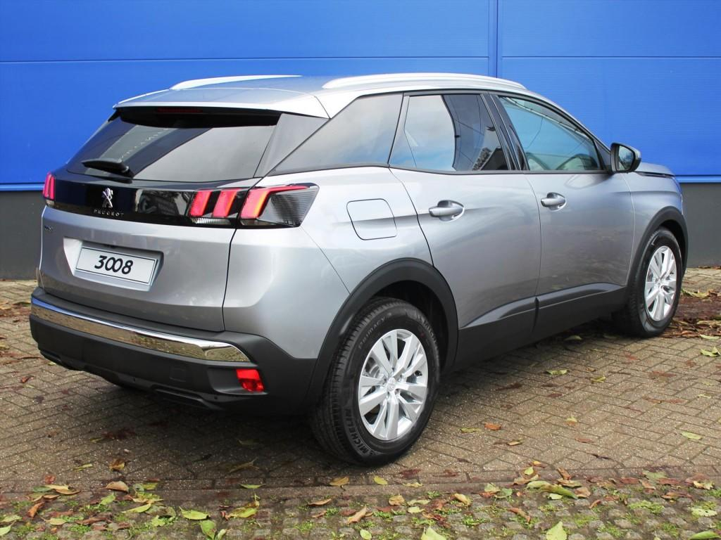 peugeot 3008 suv blue lease exec 1 6 bluehdi 120pk bij nefkens. Black Bedroom Furniture Sets. Home Design Ideas