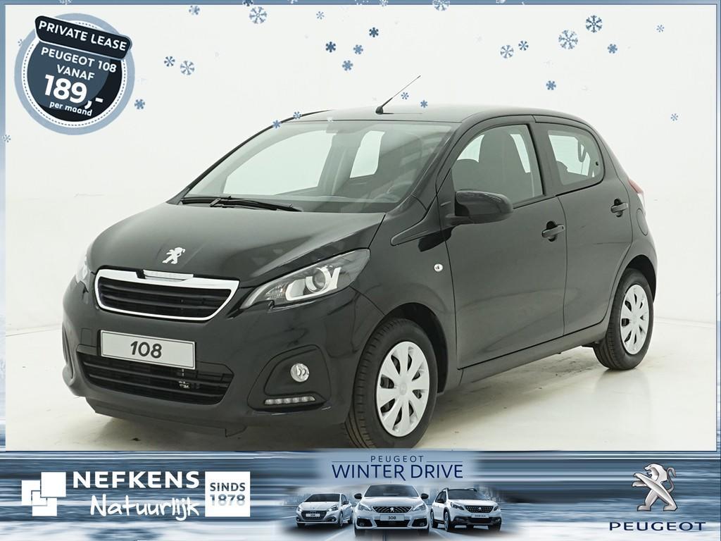 Peugeot 108 1.0 e-vti active of lease'm vanaf €209 p/m