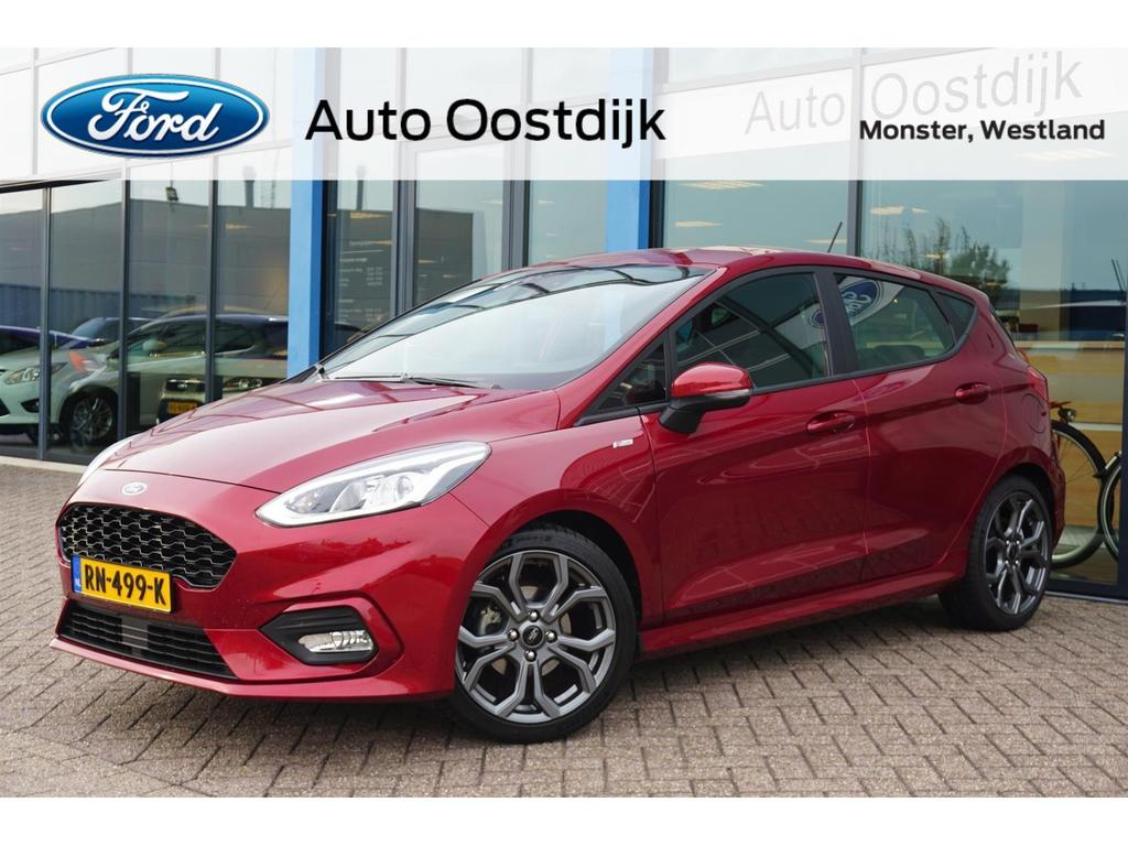 Ford Fiesta 1.0 ecoboost st-line 100 pk cruise control climate control navi