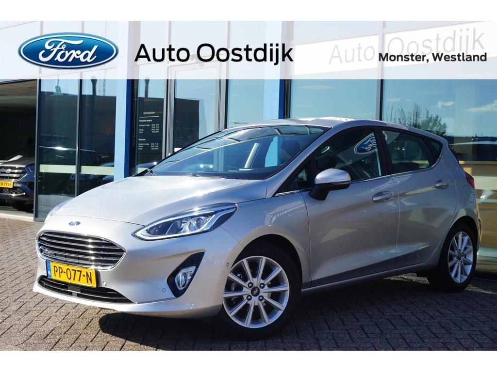 Ford Fiesta 1.0 ecoboost titanium b&o navi adaptive cruise control parkeersensoren v+a voorruitverwarming