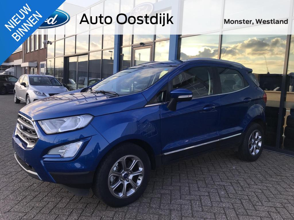 Ford Ecosport 1.0 ecoboost titanium automaat navi camera climate pdc *nieuw staat*