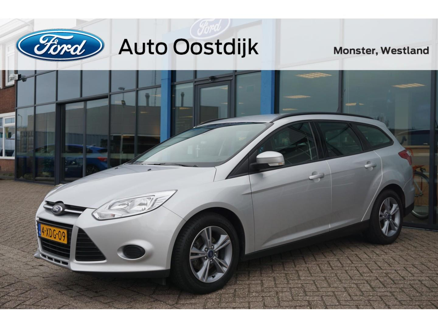 Ford Focus Wagon 1.0 ecoboost trend edition 100pk navi cruisecontrol airco isofix dealer onderhouden