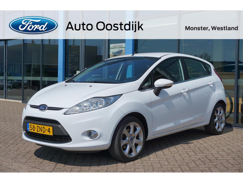 "Ford Fiesta 1.25 titanium 5-drs airco iso-fix usb lmv 16"" *dealer onderhouden*"