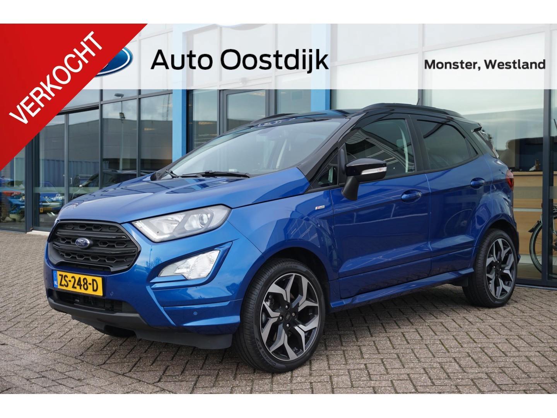 Ford Ecosport 1.0 ecoboost 140pk st-line opendak xenon armsteun climate control camera navi parkeersensoren *nieuw staat*