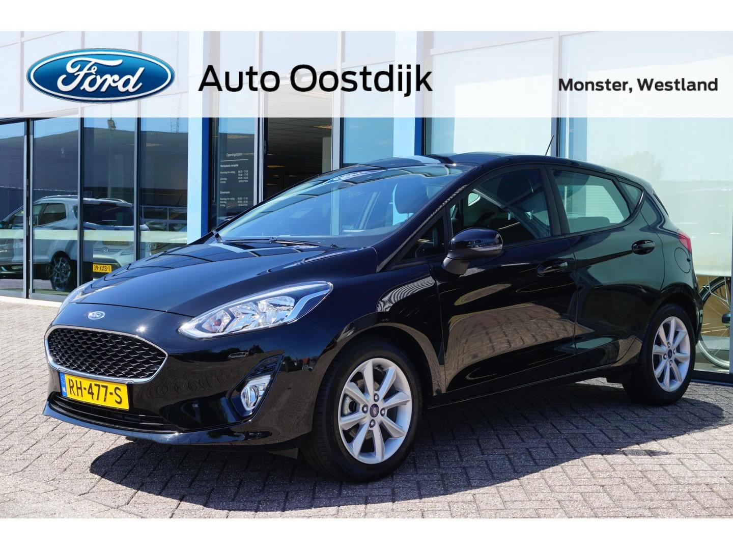 Ford Fiesta 1.1 trend 85pk navi airco dab+ parkeersensoren *lage km-stand*